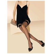 Gerbe Voile 7 Stockings Black 2