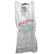 Playboy Rib Vest White 8