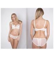 Ruby Pink Georgie Underwired Balcony Bra Ivory 36G