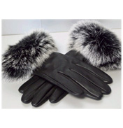 Accessory Angel Leather Gloves with Trim N/A N/A
