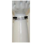 2 Tone Crystal Bracelet