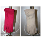 Felt Button Glove