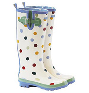 Emma Bridgewater Polka Dot Wellington Boot SIZE 8…